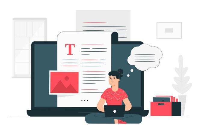 Blog Web Sitesi Tasarımı