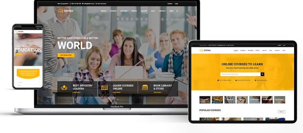 Wordpress Education Online Eğitim Teması