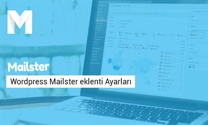 Wordpress Mailster eklenti Ayarları
