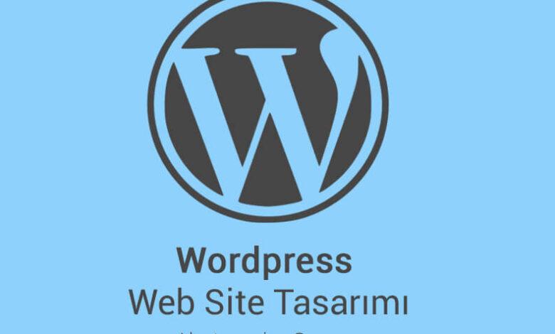 Wordpress Web Site Tasarımı