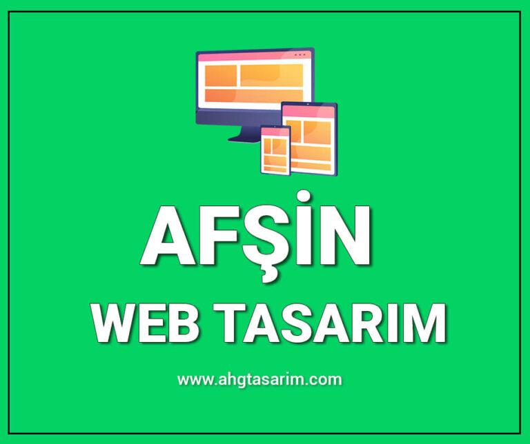 Afşin Web Tasarım