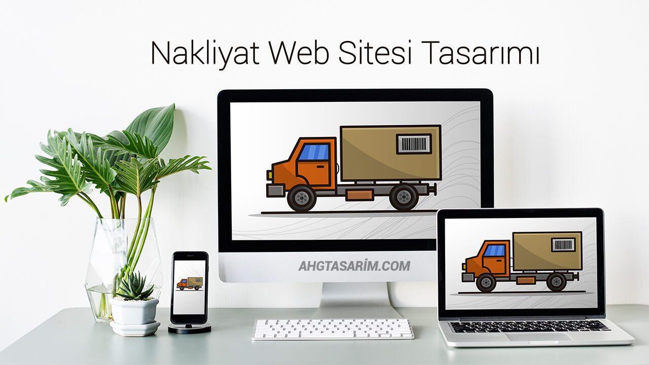 Nakliyat Web Sitesi Tasarımı | Nakliyat sitesi kur | hazır site